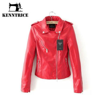 Leather Jackets with Fur Women Autumn Short Coats Winter Womens Leather Jackets and Coats