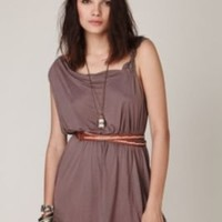 One Shoulder Lace Trim Tunic at Free People Clothing Boutique