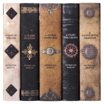 GAME OF THRONES - ARMOR BOOK SET