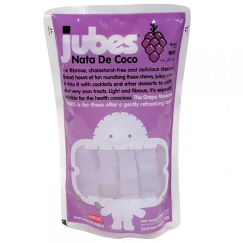 Jubes Nata De Coco Grape 12.7 oz