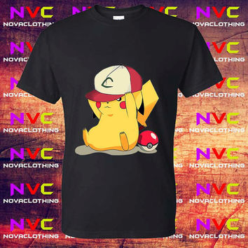 Pikachu Ninja tshirt - Tshirt Unisex Adult, Tshirt Youth, kids clothes, Mens Tshirt, Womens Tshirt, Boys tshirt, Girls tshirt