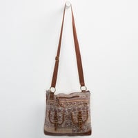 Floral Paisley 2 Pocket Hobo Bag Brown Combo One Size For Women 24231144901