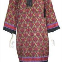 Nicole Miller Celtic Print Tunic Dress Size 14