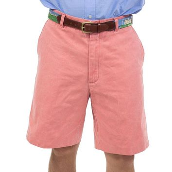 Authentic Nantucket Red Plain Front Shorts by Murray's Toggery