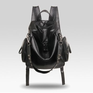 EVELYN Studded 2 in 1 backpack/purse