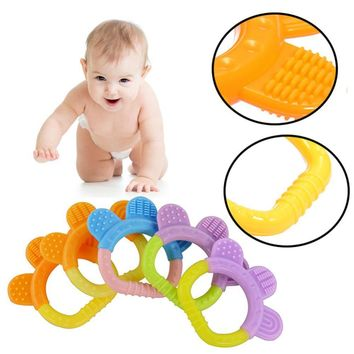 Dental Care Bear's-paw Shape Silicone Baby Biting