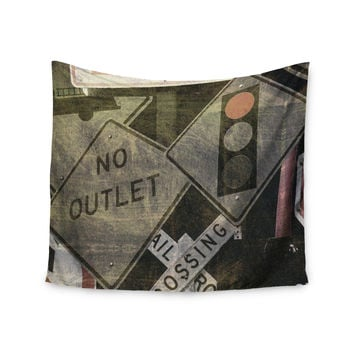 "Heidi Jennings ""City Outing"" Urban Signs Wall Tapestry"