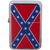 Rebel Flag Refillable Lighter