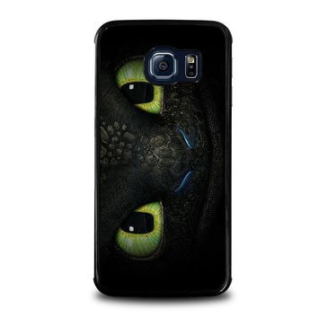 toothless how to train your dragon samsung galaxy s6 edge case cover  number 1