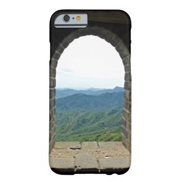 Mountain Window View Barely There iPhone 6 Case