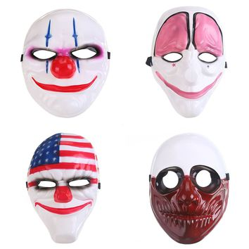 Scary Party Masks Clowns Adult Costume Accessory Party Cosplay Carnival Mask