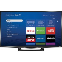"Insignia™ - 32"" Class (31.5"" Diag.) - LED - 1080p - Smart - HDTV Roku TV - Black"