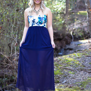 Southern Winds Strapless Maxi