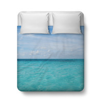 Cayman Island Waters - Duvet Cover