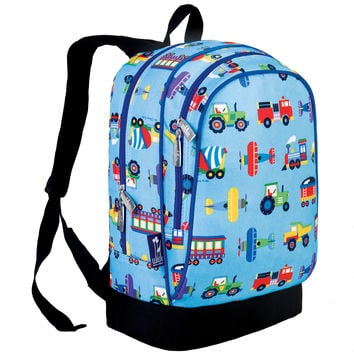 Olive Kids Trains, Planes & Trucks Sidekick Backpack - 14079