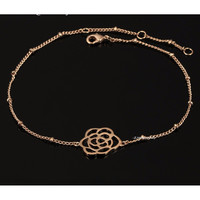 Rose Gold 18K Plated Anklet
