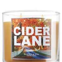 Cider Lane 14.5 oz. 3-Wick Candle   - Slatkin & Co. - Bath & Body Works