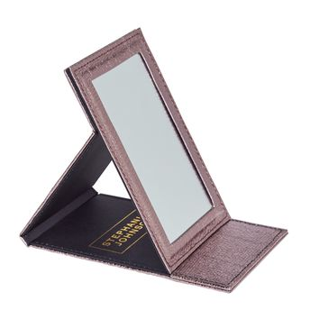 Stephanie Johnson Stand-Up Folding Mirror (2 colors)