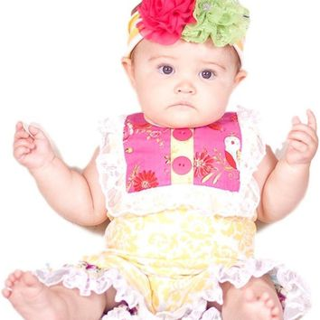 Giggle Moon-Sweet As Honey-Shortall  (size 6 Mth)