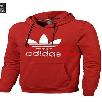 adidas Originals 2018 New Style Fashion Trend Sweater 18699 L-4XL Red