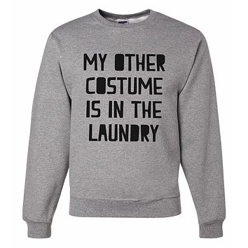 7 ate 9 Apparel Men's Funny Halloween Costume Sweatshirt