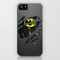 Batman Bruce wayne torn tee tshirt apple iPhone 4 4s, 5 5s 5c, iPod & samsung galaxy s4 case
