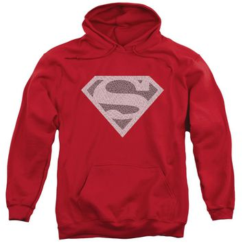 Superman - Elephant Shield Adult Pull Over Hoodie