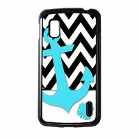 Chevron Anchor Personalized Nexus 4 Case
