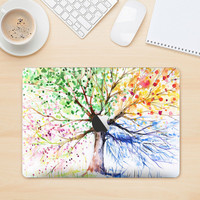 The WaterColor Vivid Tree Skin for the Apple MacBook Air - Pro or Pro with Retina Display (Choose Version)