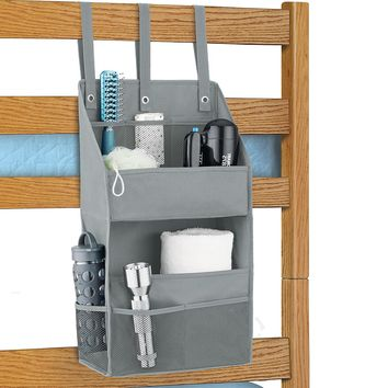 Grey Bunk Bed Organizer