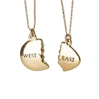 East and West Egg Gatsby Necklace | Outofprintclothing.com