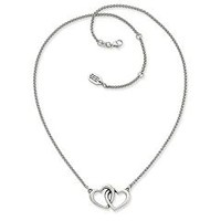 Double Heart Linked Necklace | James Avery