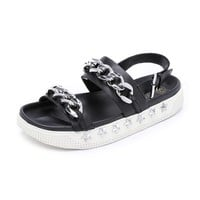 Kristen Two Band Sandals