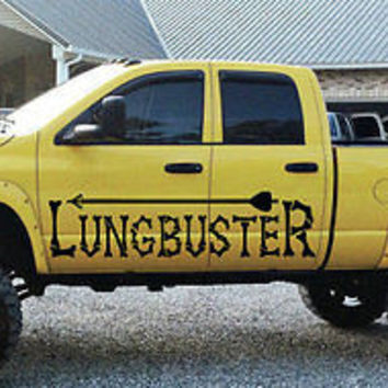Longbuster Sticker Longbuster Decal Bow Hunting Decal vinyl graphics car tr409