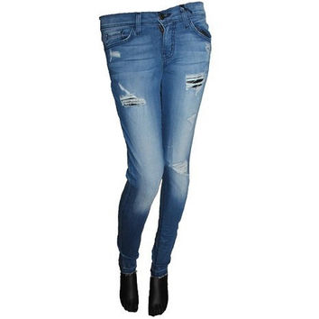 Flying Monkey L8342 Skinny Distressed Jean