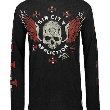 Affliction American Customs Sinners T-Shirt
