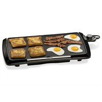Presto Cool Touch 20-in. Electric Griddle (Black)
