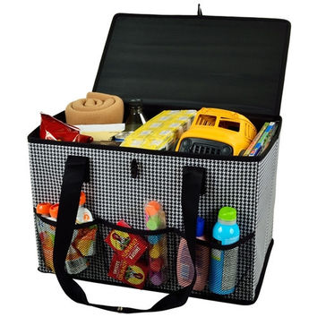 Collapsible Home and Trunk Organizer | Houndstooth
