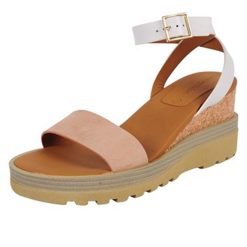 See by Chloe Cork and Leather Wedge