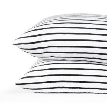 Simple Stripe Pillowcase Set