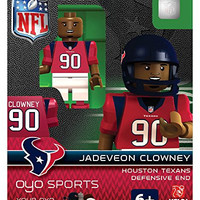Jadeveon Clowney Oyo Houston Texans Nfl Football Figure Lego Compatible New G2