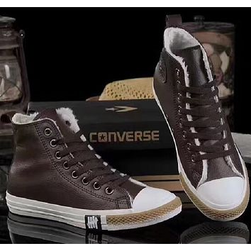 Converse:plus hair men and women Casual shoes