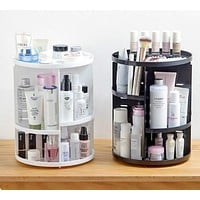 Rotating 360 Degree Makeup Organizer
