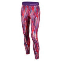 Nike Pro Hyperwarm Compression Allover Print Girls' Tights