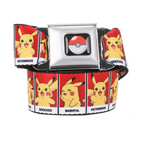 Pokemon Pikachu Feelings Seat Belt Belt