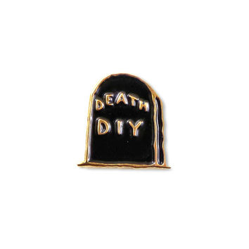 Death DIY Gravestone Pin (Limited Edition)