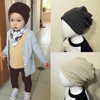 Popular Children Infant Toddler Beanie Hat Warm Winter Boys Girls Cap 5 Colors [8361455879]