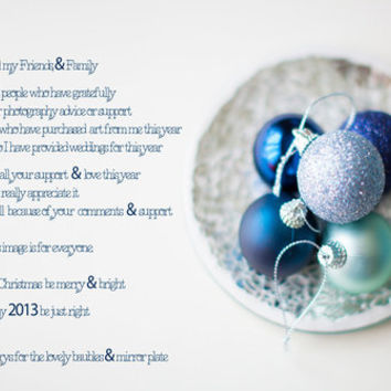 May your Christmas be merry & bright  by secretgardenphotography [Nicola] | Society6