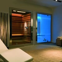 Sauna / Turkish bath SWEET SPA E SWEET SAUNA Home Collection by STARPOOL | design Cristiano Mino