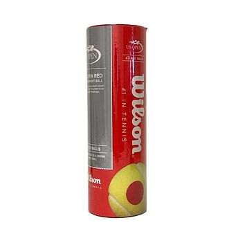 Wilson US OPEN Red Transition Tennis Balls - 3 ball can